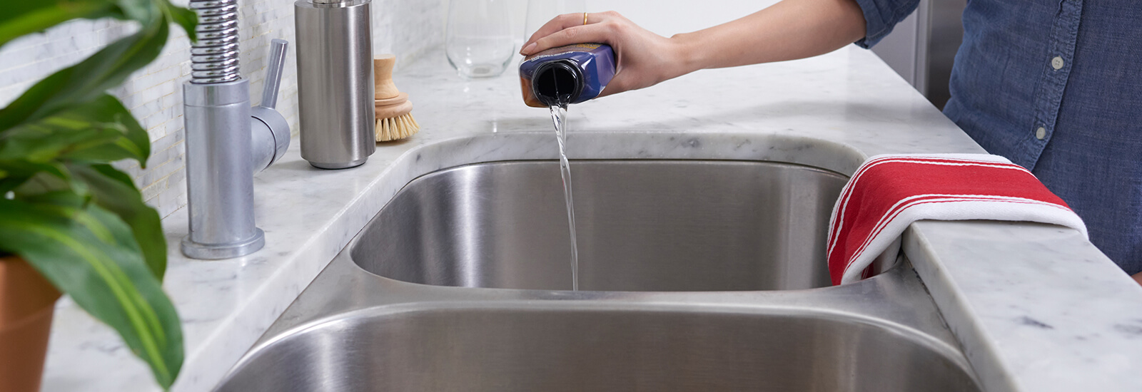 Brilliant How To Unclog Your Kitchen Sink In 3 Steps Drano Best Image Libraries Thycampuscom