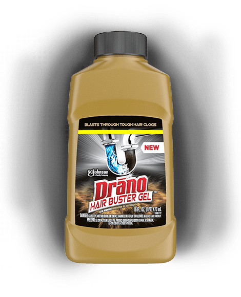 Drano Hair Buster Gel Front